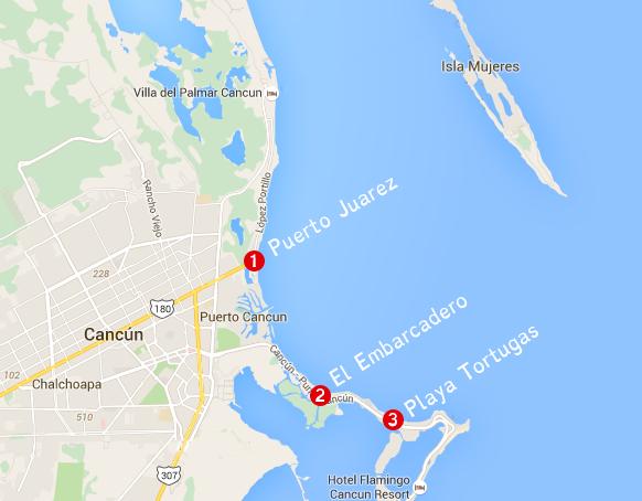 Cancun Isla Mujeres Ferry